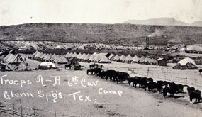 Glenn Springs Cavaly Camp, 1916