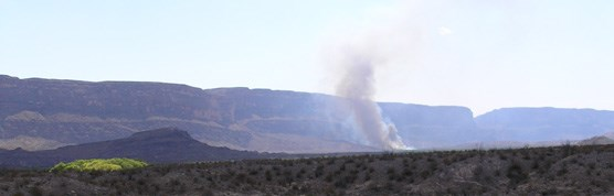 Santa Elena Canyon-Sublett Prescribed Fire, summer 2006