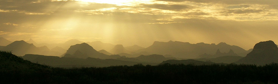 Sunlight on the Chisos