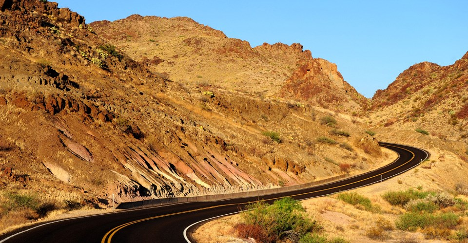 Ross Maxwell Scenic Drive - Big Bend National Park (U.S. National ...