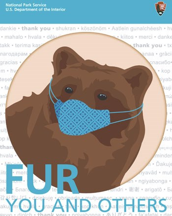 Wear a Mask: Fur YOU and OTHERS