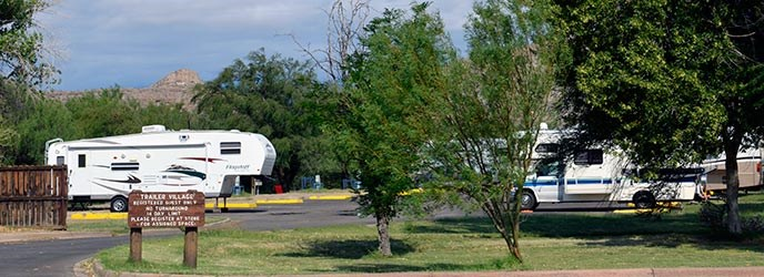 Rio Grande Village Rv Campground Big Bend National Park