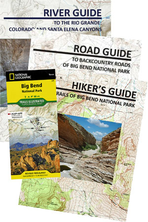 Big Bend Maps And Guides - Big Bend maps and guides