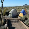 Primitive Roadside Campsite