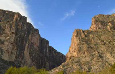 Santa Elena Canyon entrance
