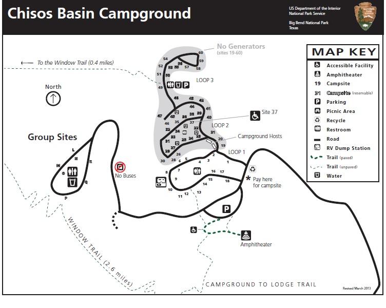 Chisos Basin Campground - Big Bend National Park (U.S. National Park ...