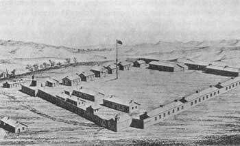 Sketch of Fort C.F. Smith