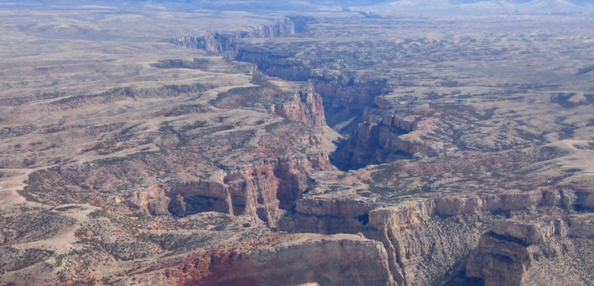 Remote and rugged region surrounding Bighorn Canyon