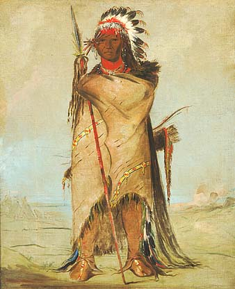 Hó-ra-tó-a, Brave of the Crow Nation