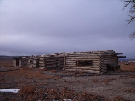 The Bunkhouse as it looks today at the M-L Ranch site