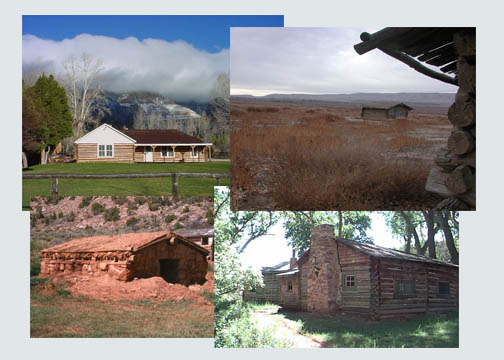 Photos of the Bighorn Canyon Historic Ranches