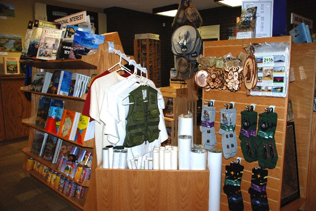 Cal S. Taggart Bighorn Canyon Visitor Center Bookstore