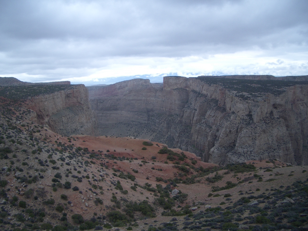 Magniificent view of Bighorn Canyon