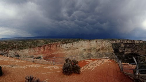 Stormy Skies Over Devil Canyon