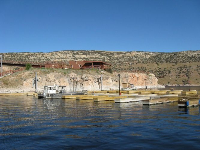 Bighorn Lake and Ok-A-Beh Marina