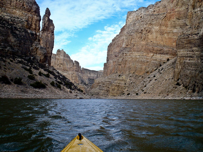 Kayaking Devils Canyon
