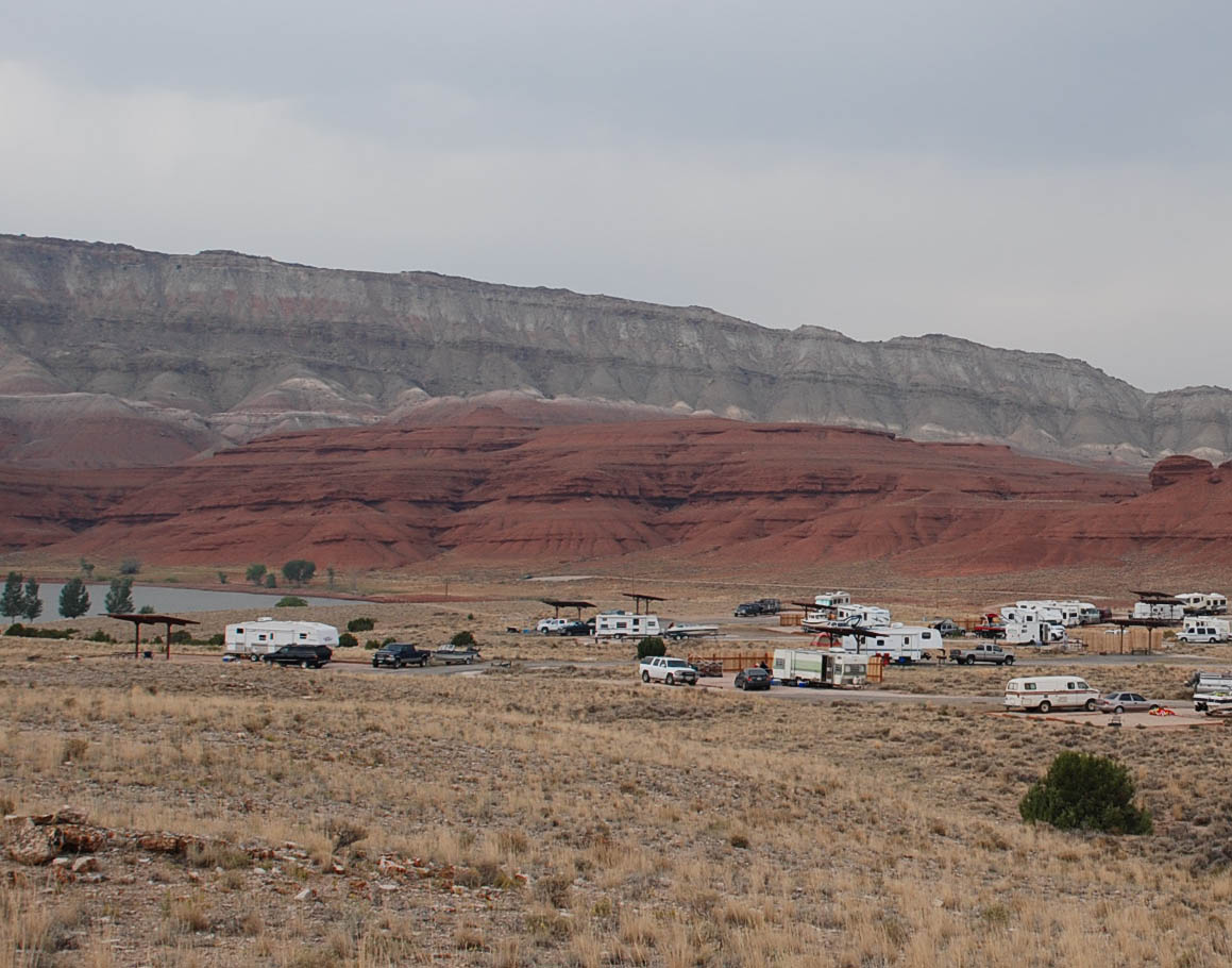 A busy weekend at the Horseshoe Bend Campground