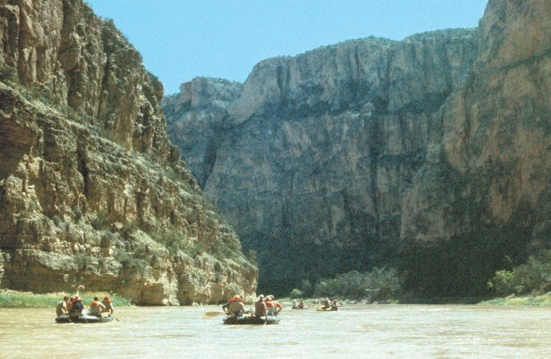 Floating the Bighron Canyon in 1965