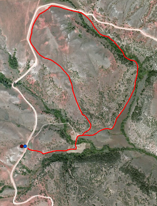 Lockhart Ranch Trail Map