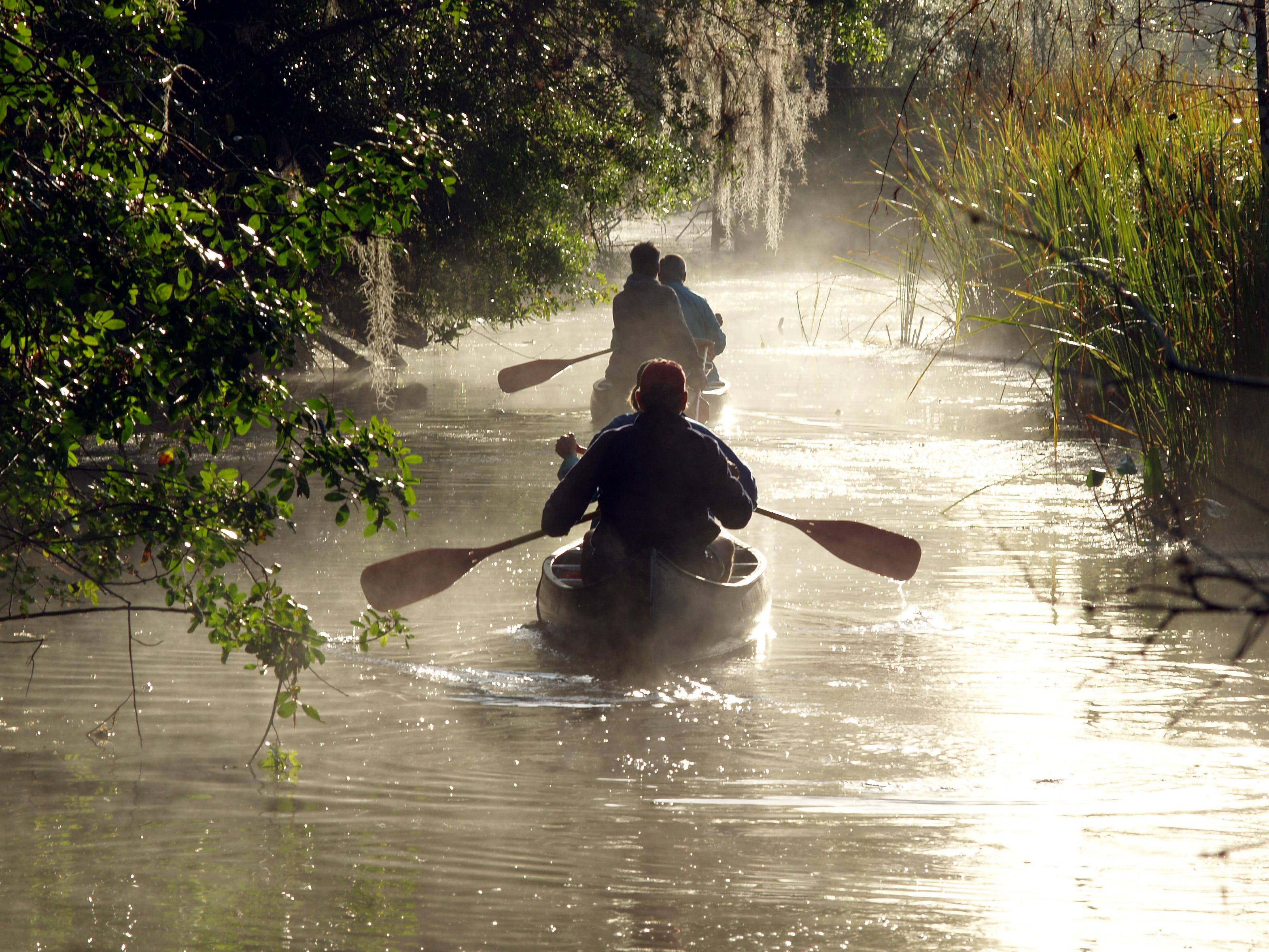 Canoeing Kayaking Big Cypress National Preserve U S
