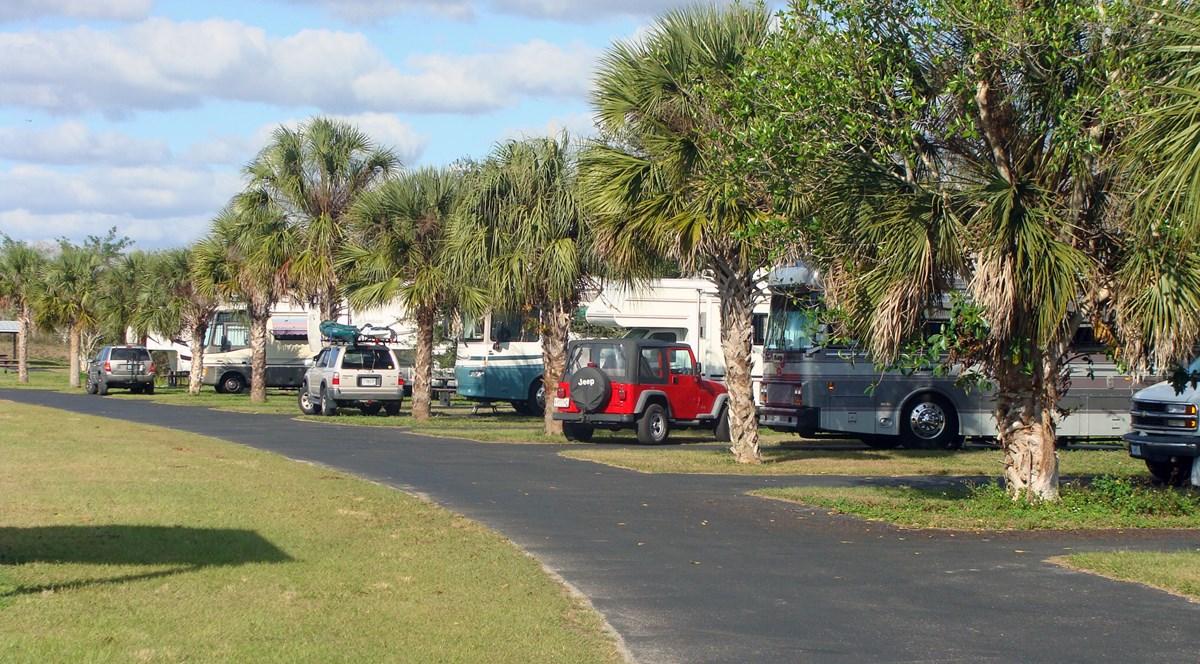 Ochopee Florida Map.Midway Campground Big Cypress National Preserve U S National