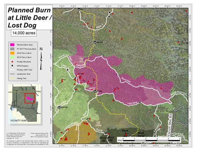 Florida Fire Map 2017.2017 Fire Activity Big Cypress National Preserve U S National