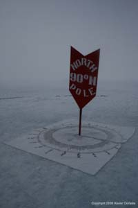 Artist Xavier Cortada's North Pole Installation