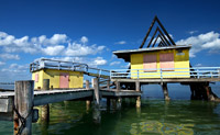 A-Frame Building at Stiltsville
