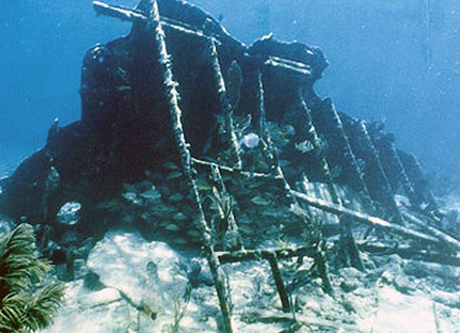 The wreck of Mandalay