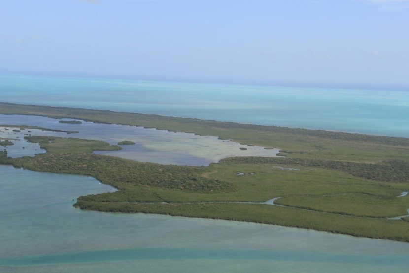 Jones Lagoon aerial