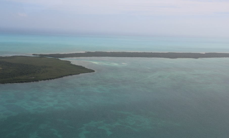 Sands Key aerial view