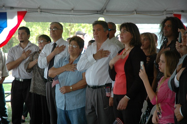 Welcoming 200 New Americans in Biscayne National Park