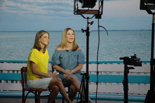 Today Show broadcast from Stiltsville