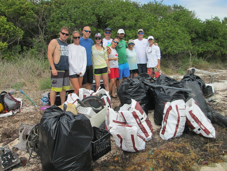 Elliott Key Clean-up crew