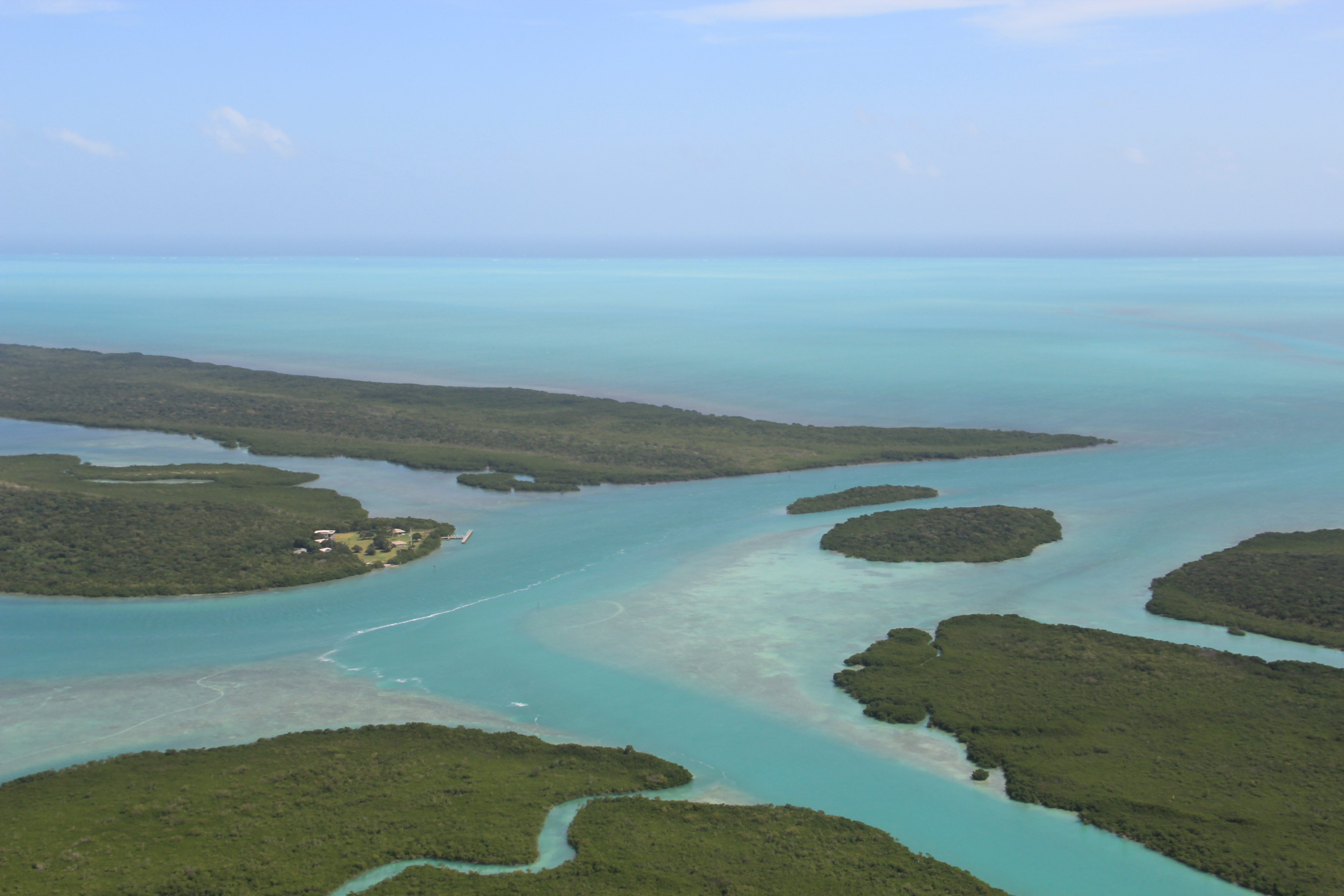 Adams Key aerial view