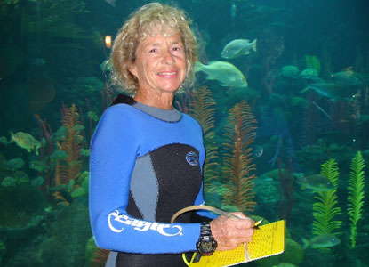 Lillian Kenney, REEF volunteer