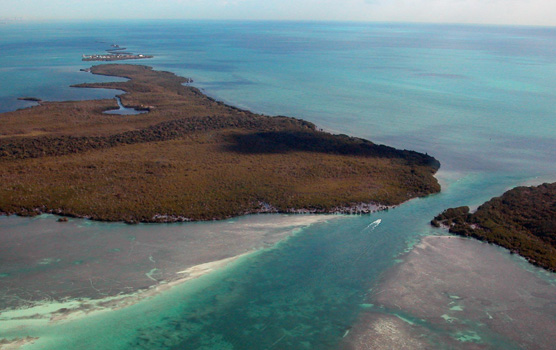 Aerial View of Sands Key