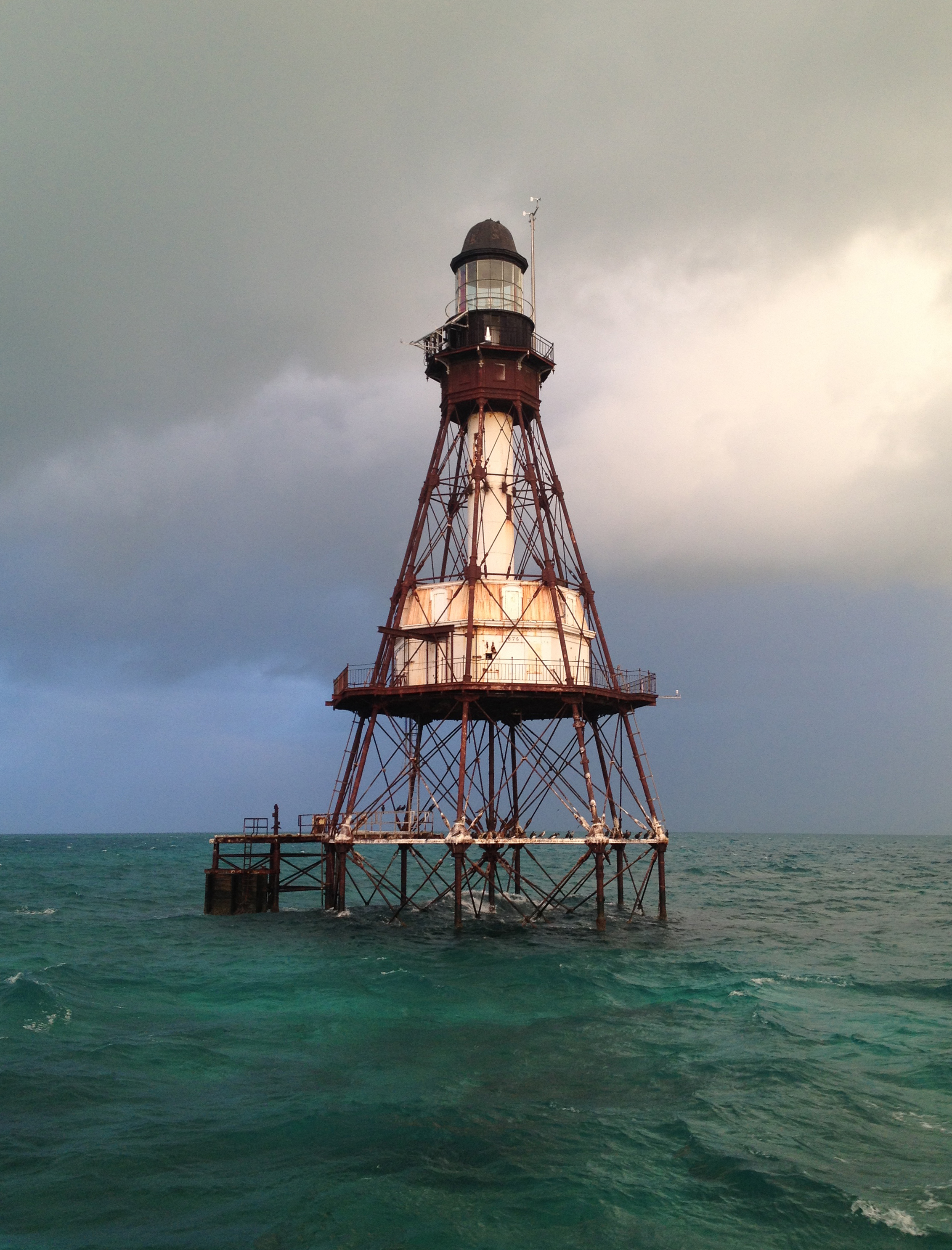 """A lighthouse that has kept mariners and their ships from danger is now in danger itself."""