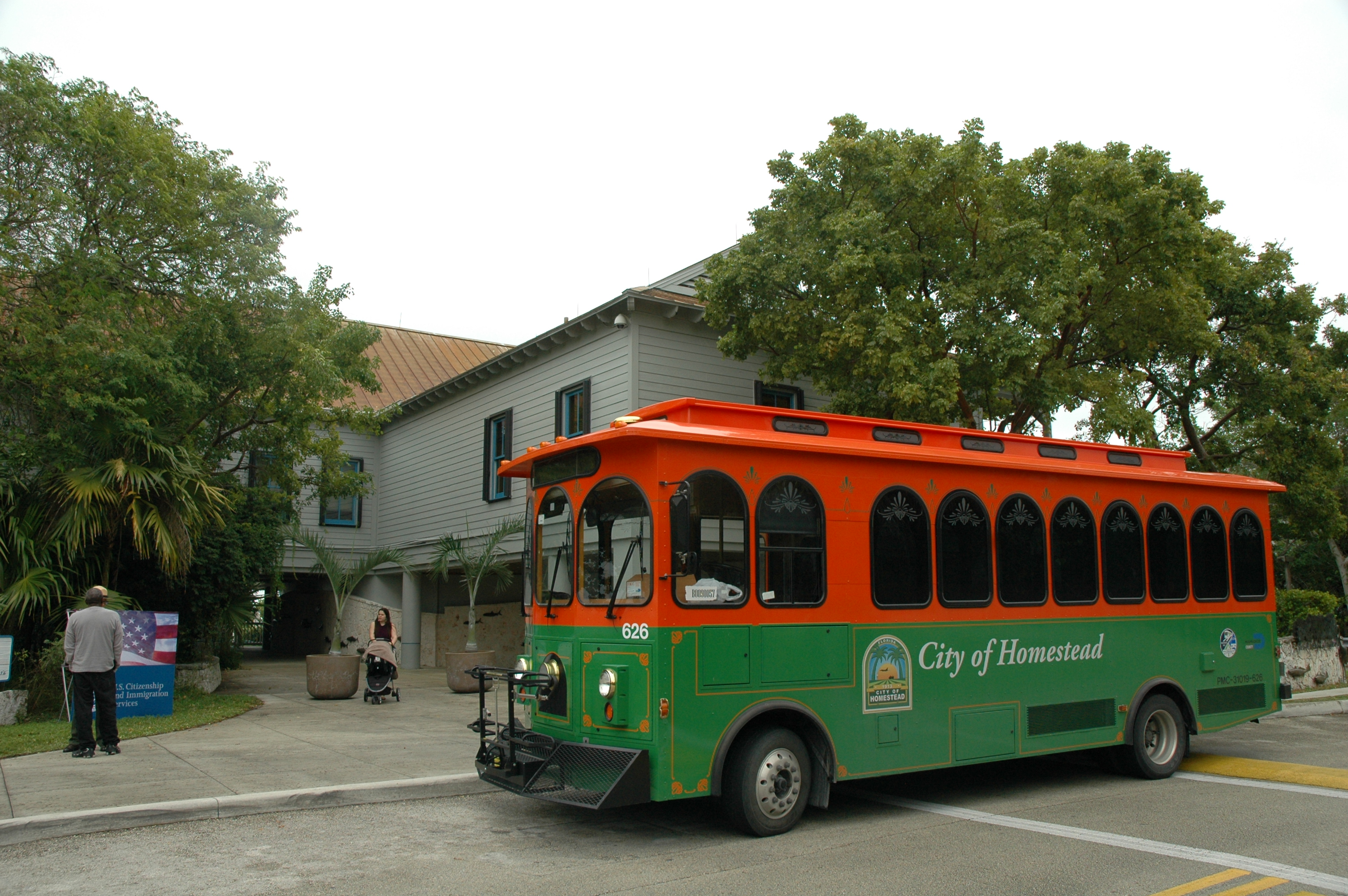 The Homestead National Parks Trolley takes you to Biscayne National Park for free!
