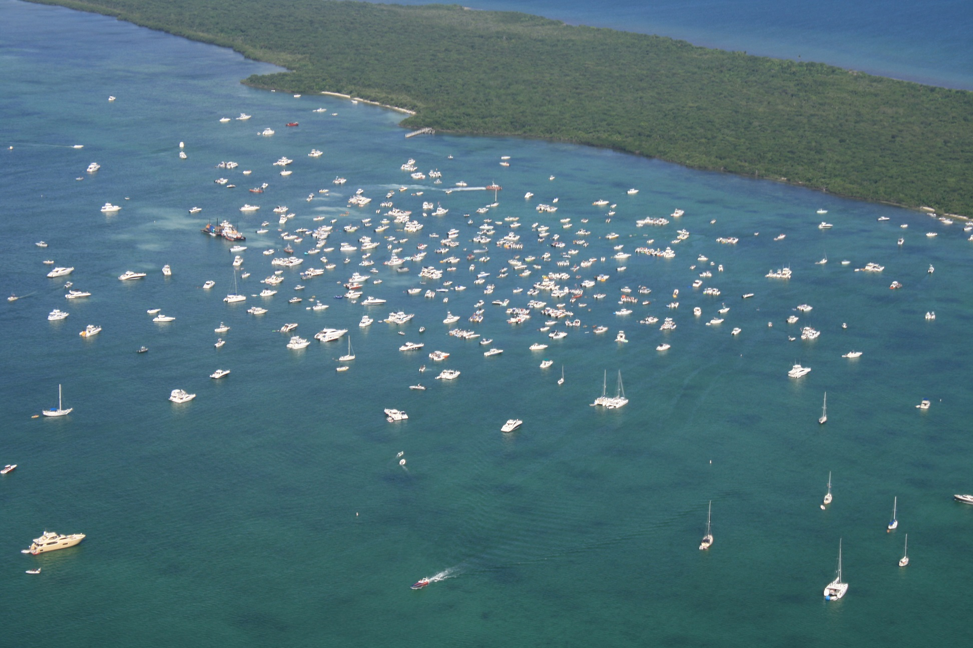 columbus day weekend biscayne national park us