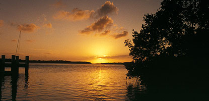 Sunset at Adams Key