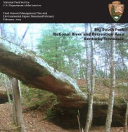 Cover page for the Big South Fork General Management Plan completed in 2005.