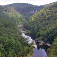 Obed River and gorge.