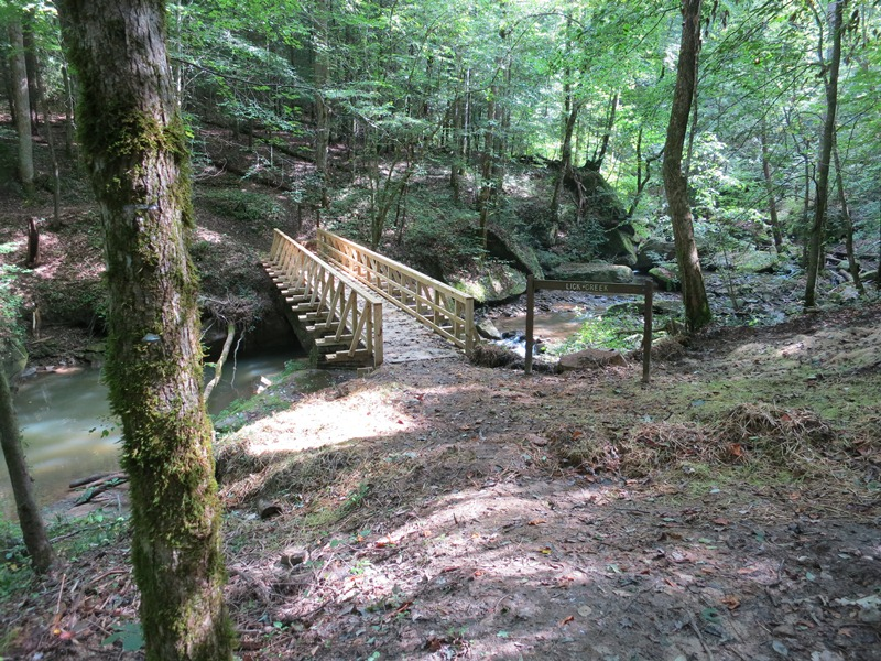 Diy Big Calendar : New lick creek bridge on the sheltowee trace national