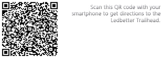 QR code for directions to Ledbetter TH