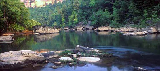 Big South Fork River from Leatherwood Ford