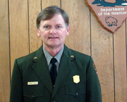 Stennis Young, new Superintendent at Big South Fork NRRA
