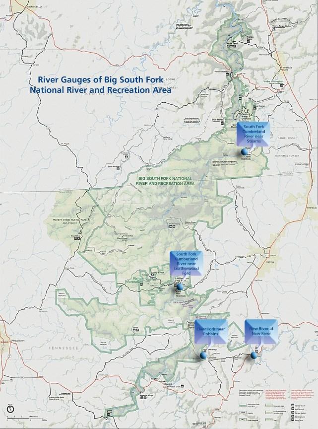 River Gauge - Big South Fork National River & Recreation ...