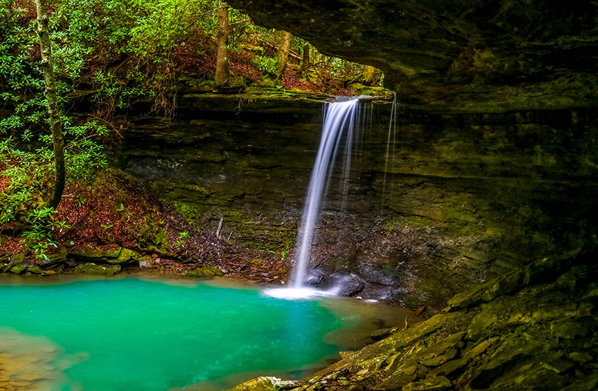 Tennessee Landscapes--Beaver Falls