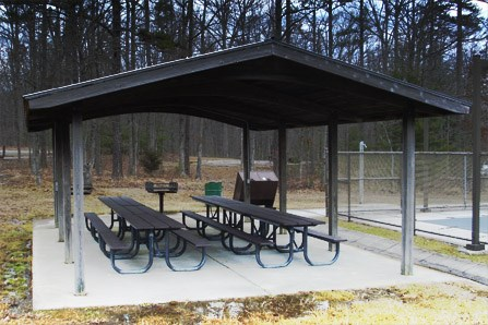 pool shelter rental
